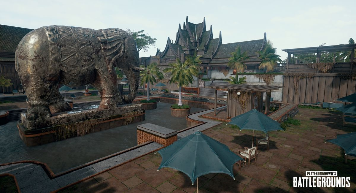 Sanhok/Landmark/Paradise Resort - Official PLAYERUNKNOWN'S