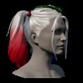 Icon appearance Hair Harley Quinn's Hair.png