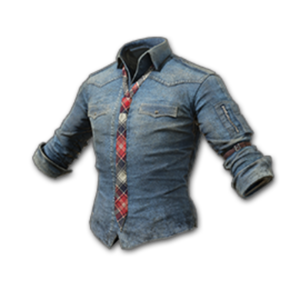 Icon equipment Body Denim Shirt with Necktie.png