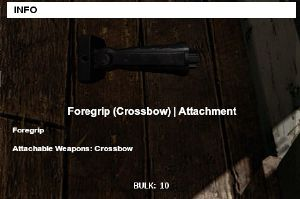 Foregrip Crossbow Official Playerunknowns Battlegrounds Wiki
