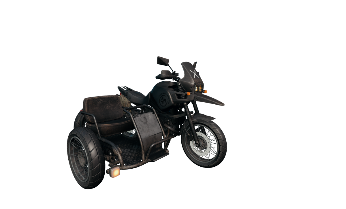 Motorcycle w/ sidecar - Official PLAYERUNKNOWN'S BATTLEGROUNDS Wiki
