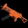 Weapon skin Rugged (Orange) UMP45.png