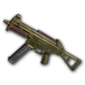 Weapon skin Gold Plate UMP45.png