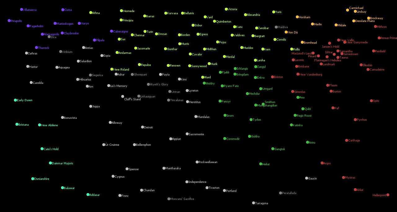Star systems   Battletech Wiki
