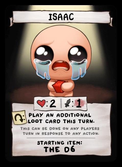 Isaac ? Card
