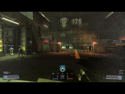 Scorpion tank HUD