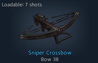 Sniper Crossbow - Official Black Survival Wiki