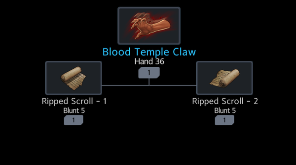 Blood Temple Claw - Official Black Survival Wiki