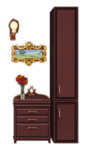 Antique Drawers and Portrait for Interior.png