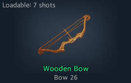 Wooden Bow - Official Black Survival Wiki