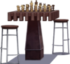 Chess Table and Stool.png