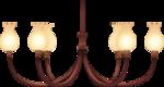 Antique 6-Bulb Pendant Lighting.png
