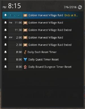 Golden Harvets Village Raid