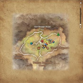 Oakshade Village Map.png