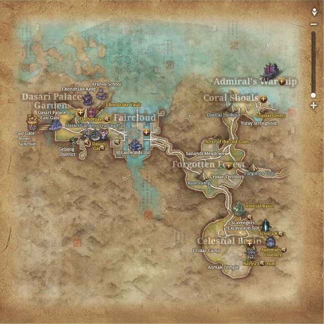 Map of Gunwon City