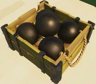 Heavy cannonball