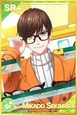 【Glasses Crux】Mikado Sekimura