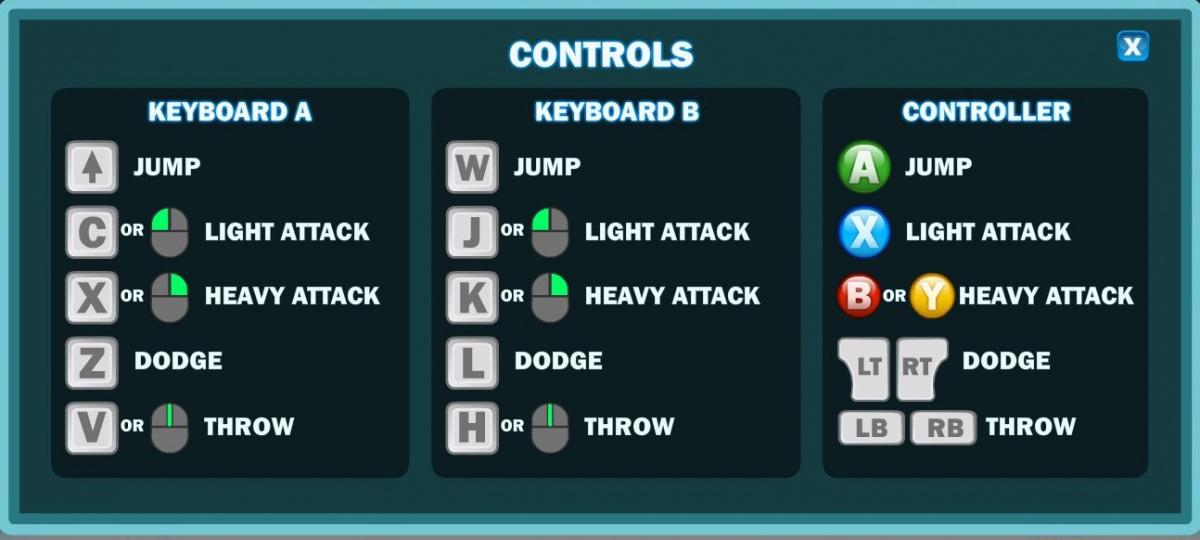 Controls - Brawlhalla Wiki