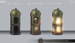Scout`s lanterns