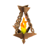 Wooden Simple Ceiling Torch.png