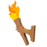 Wooden Simple Wall Torch.png