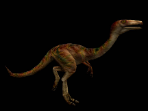 Render of Gallimimus from Action Forms' website