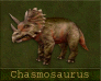 Call image for Chasmosaurus