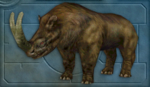 Carnivores Ice Age Brontotherium.png