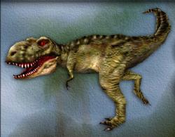 Menu image of Tyrannosaurus's target zone