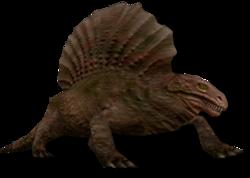 Dimetrodon as seen in Rexhunter99's C3dit
