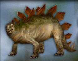 Menu image of Stegosaurus