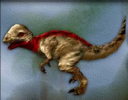 Menu image of Pachycephalosaurus's target zone