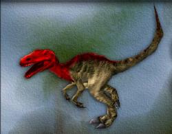 Menu image of Allosaurus's target zone