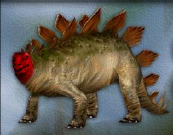 Menu image of Stegosaurus's target zone