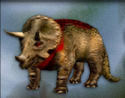 Menu image of Triceratops's target zone