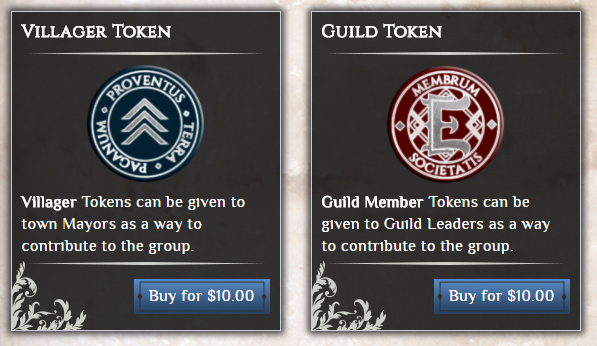 Villager Token Official Chronicles Of Elyria Wiki