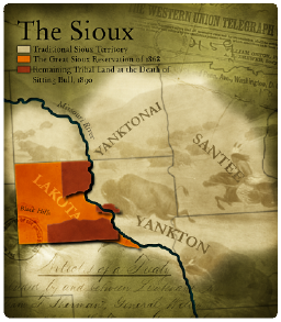 Sioux Map