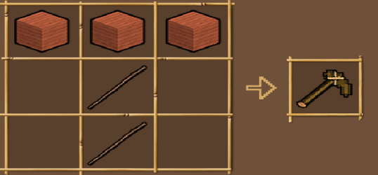 Wooden Pickaxe