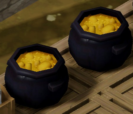 Maize chowder in stockpile