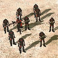 Kane's Wrath Militant squad with a Confessor