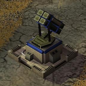 EMP Patriot missile battery
