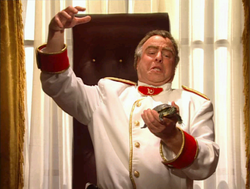 Alexander Romanov introducing Sam to the new Commander