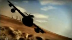 GLA aircraft seen in the Alpha Trailer