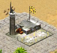 Yuri's Revenge design of a tech airport