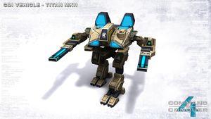 Final GDI Titan production model