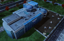 Primary target: the Futuretech Headquarters