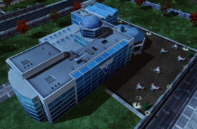 Primary target: the FutureTech Headquarters