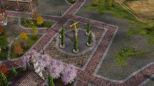 GLA victory statue