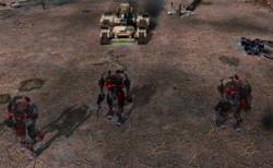 MARV advancing on the Nod base