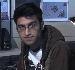 Amir Rao in 2008